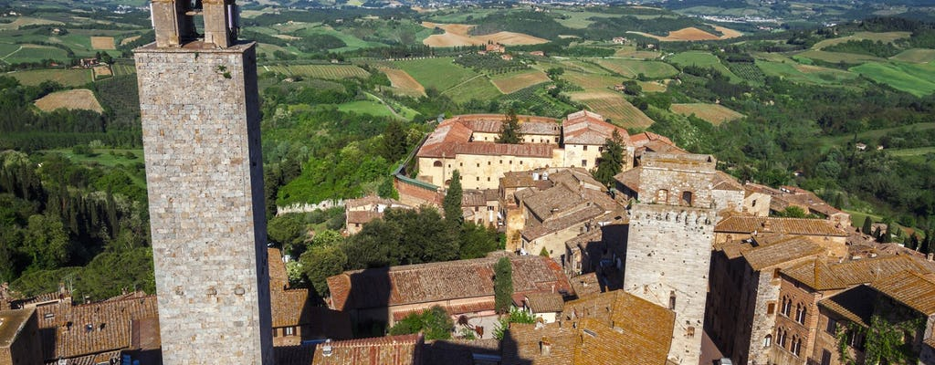 Tuscany day trip with Chianti, Siena and San Gimignano