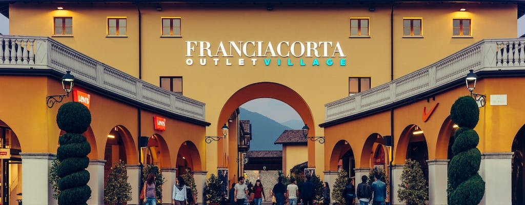 Franciacorta Outlet Village: shopping tour da Milano