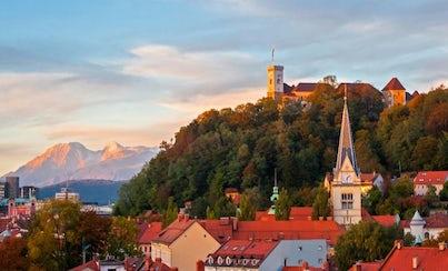Ver la ciudad,Tours andando,Tour por Liubliana