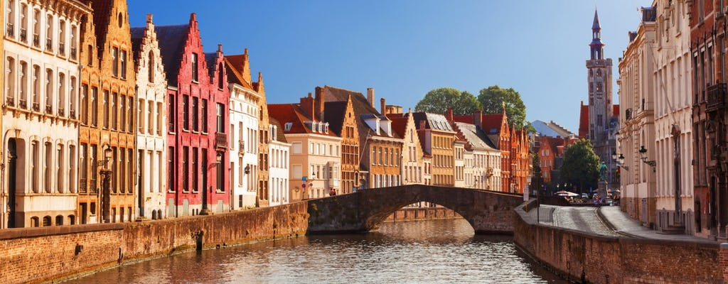 Guided visit of Bruges from Paris