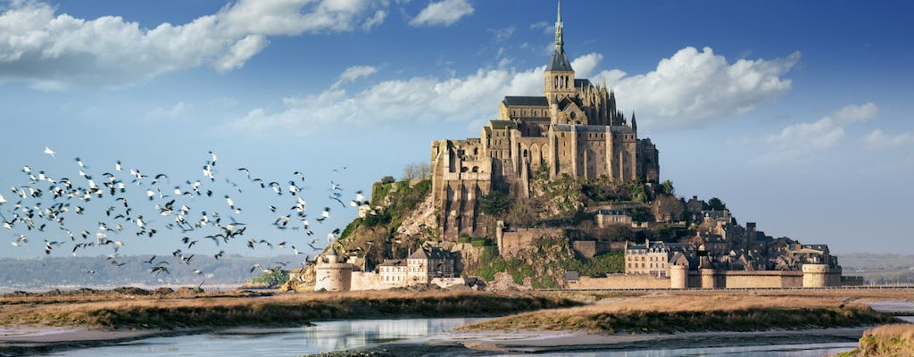 Mont Saint-Michel in a day with lunch from Paris