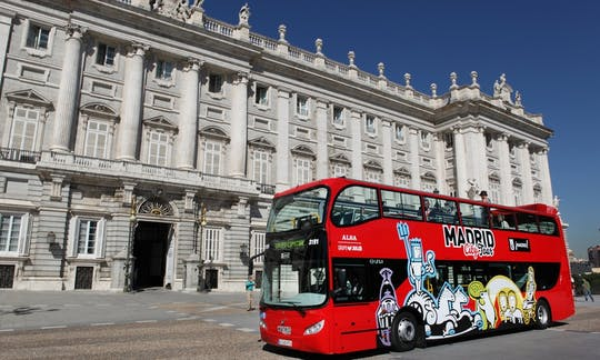 Madrid city tour hop-on hop-off bus tickets