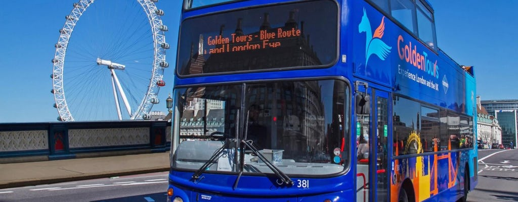 Tour in autobus di Londra di 48 ore  hop-on hop-off