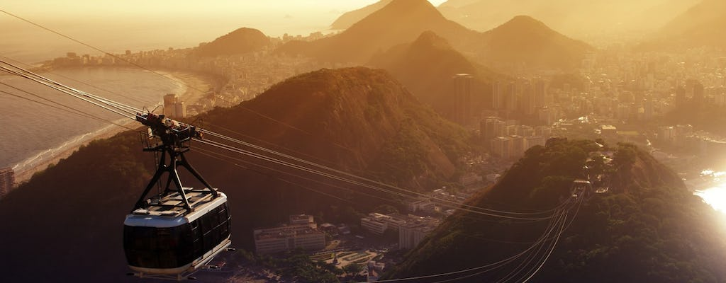 Rio in a day: city tour with Sugarloaf, Corcovado Mountain with Christ Redeemer