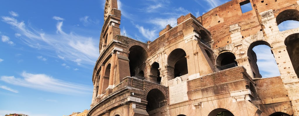 Rome in a day with Colosseum, Ancient Rome and city center afternoon tour