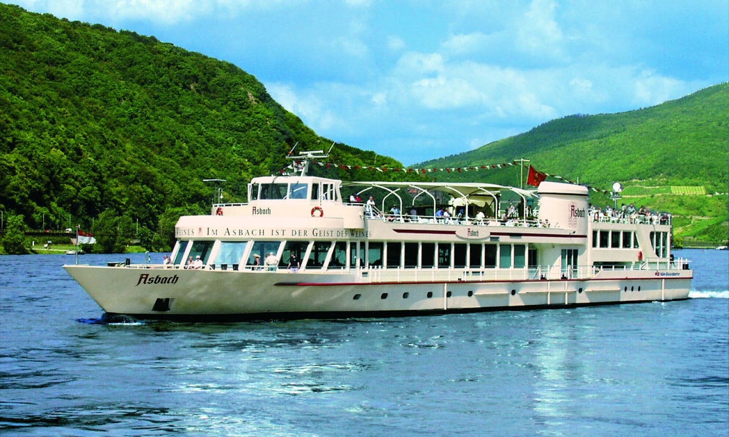 RhinePass: hop-on, hop-off one-day river cruise