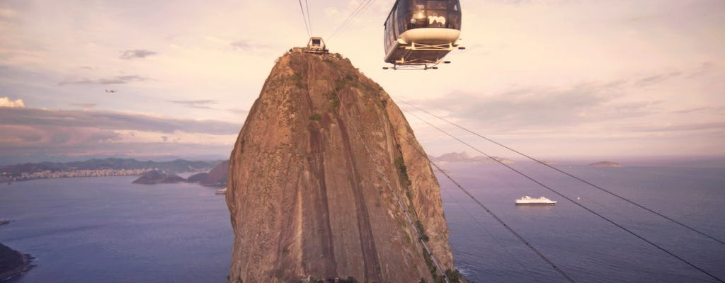Sugar Loaf city tour and cable car from Rio