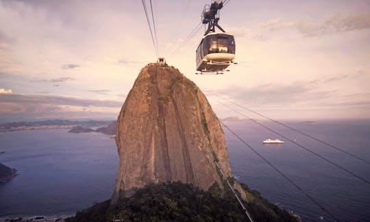 Sugar Loaf stadsrondrit en kabelbaan vanuit Rio