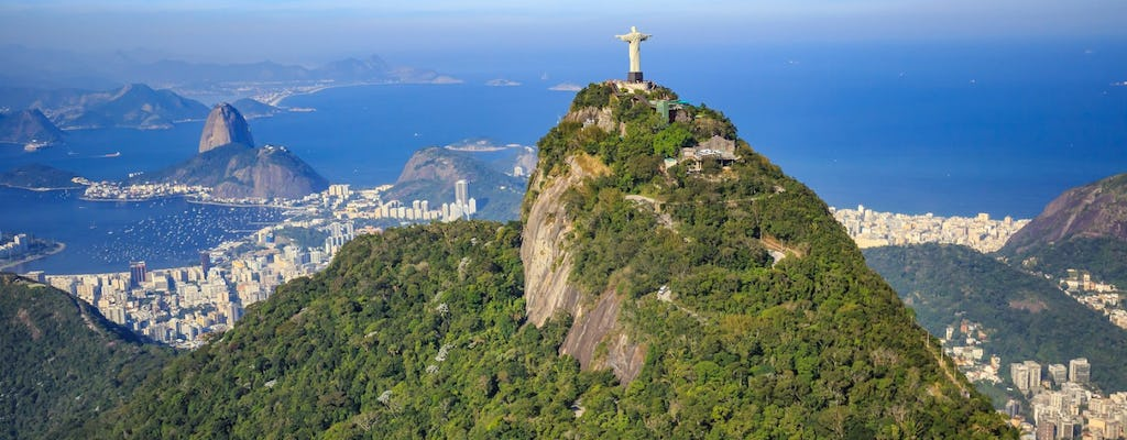 Rio by air: city tour, helicopter tour and Sugarloaf with lunch