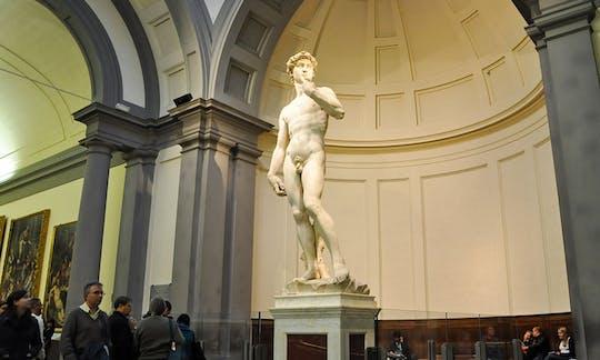 Galeria Accademia z przewodnikiem z Lukki