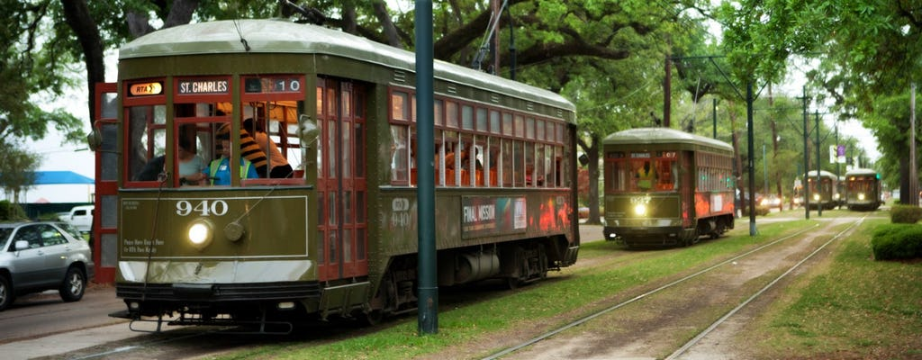 Super Stadtrundfahrt von New Orleans mit dem Bus