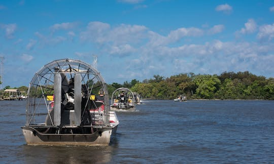 Airboating adventure tour in New Orleans