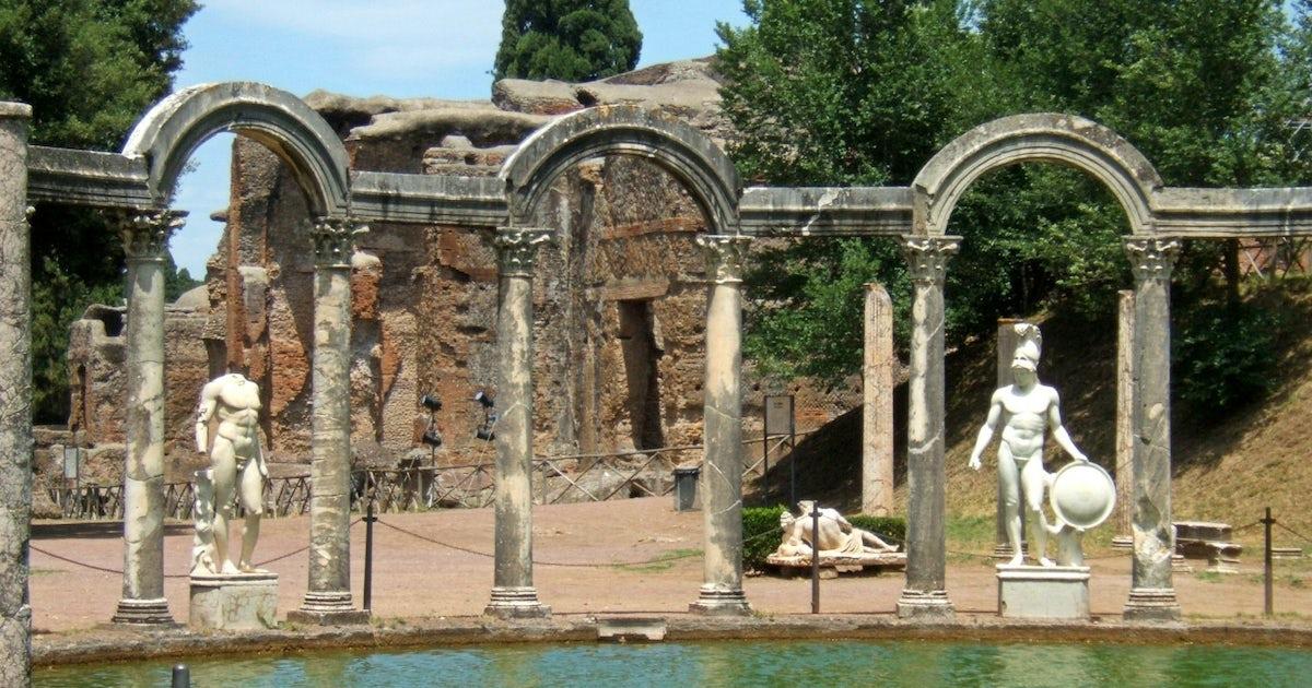 Tivoli day trip with lunch to hadrian s villa and villa d for Villa d este como ristorante