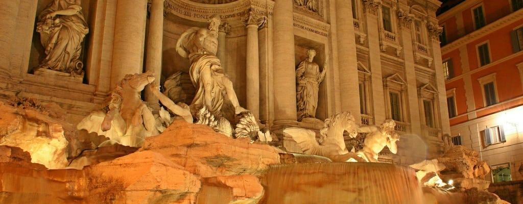 Visita a la noche de Roma, incluye el monte Pincio y la Plaza de España - ESPANOL