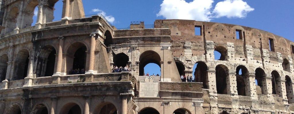 Wycieczka po Starożytnym Rzymie z wejściem bez kolejki do Koloseum, na Panteonem i Piazza Navona