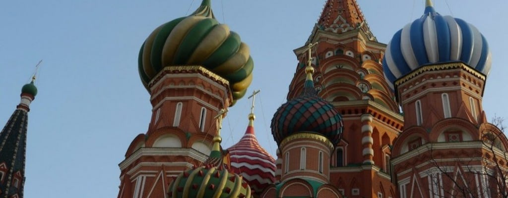 Guided walking tour in Moscow - behind the icons