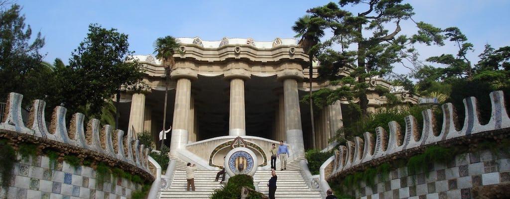 Entradas preferenciais para o Parque Güell e a Sagrada Família, e visita guiada
