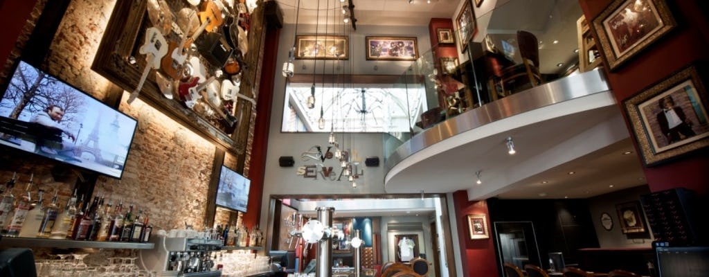 Hard Rock Cafe Brussels: priority zitplaatsen met menu