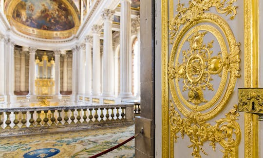 Palace of Versailles entrance tickets with audioguide