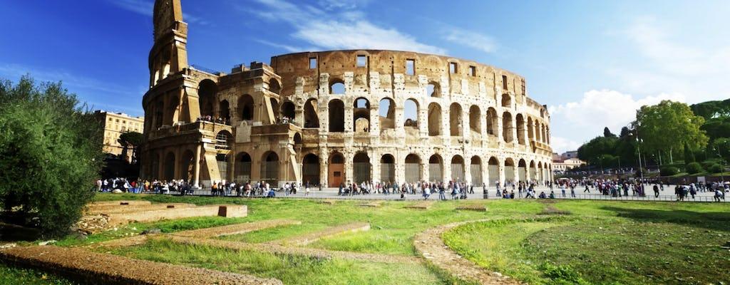 Tour del Colosseo, del Foro Romano e del Palatino con upgrade per i Musei Vaticani