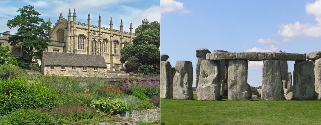 Tour del castello di Windsor, Oxford e Stonehenge