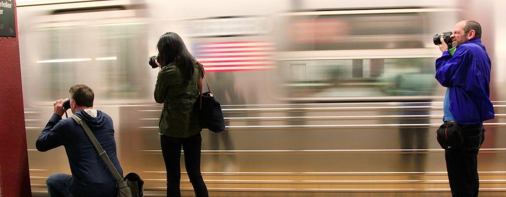 Słynna wycieczka po fotografii zabytkowej NYC