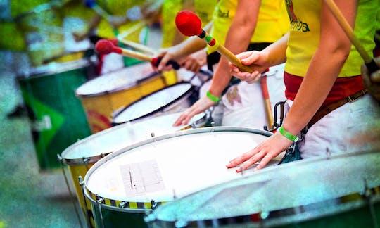 Класс самбы в Рио