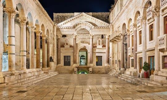 Spalato: tour a piedi del palazzo di Diocleziano