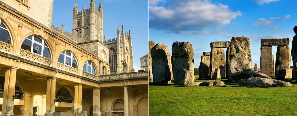 Stonehenge- und Badetour mit Eintritt in die römischen Bäder