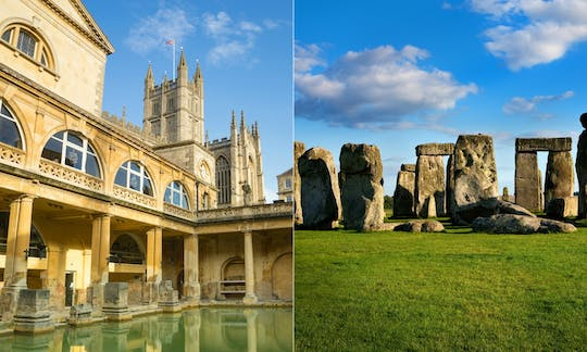 Stonehenge and Bath Tour with Roman Baths entry