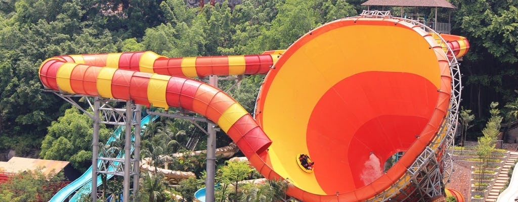 Journée au parc d'attractions de Sunway Lagoon - Aller retour à votre hôtel