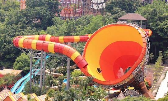 Ticket van het attractiepark Sunway Lagoon met transfer van en naar het hotel