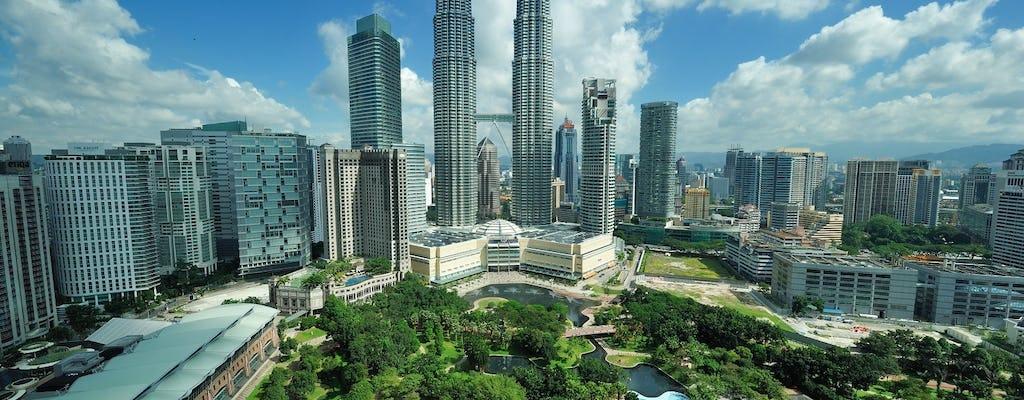 Petronas Twin Towers sem filas e tour privado das dez maravilhas saindo de Kuala Lumpur