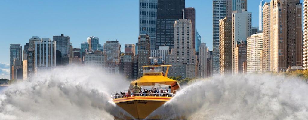 Tour en lancha rápida por el lago Seadog en Chicago
