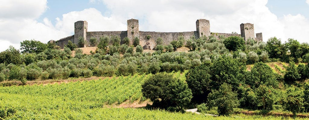 Chianti and castle tour from San Gimignano with wine tasting