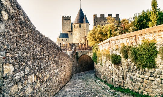 Tickets for the Château Comtal in the fortified city of Carcassonne