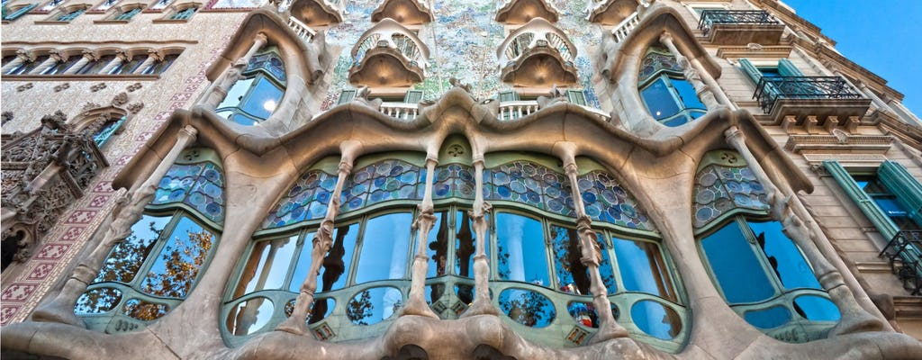 Combo Tour: Girona and Artistic Barcelona the best of Gaudi
