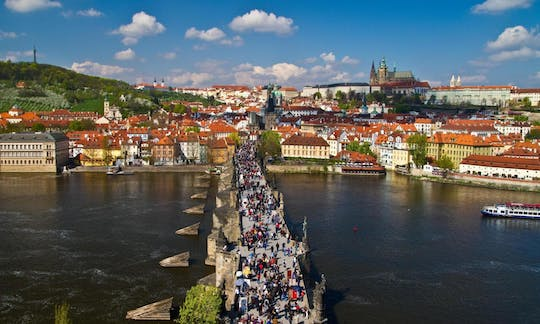 Prague city tour with Vltava River cruise