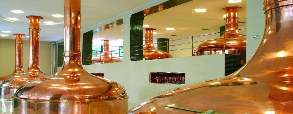 Excursión a la fábrica de cristal de Nizbor y a la cervecería Pilsner Urquell desde Praga