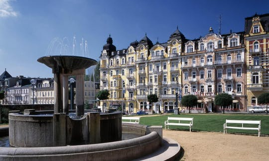 Karlovy Vary and Marianske Spa day trip from Prague