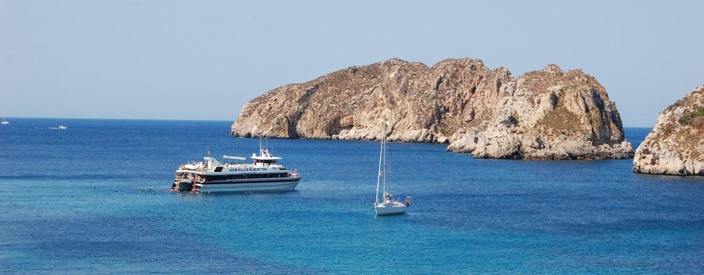 Excursión en barco de un día a Mallorca con comida y bebidas