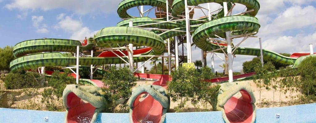 Entradas y traslado al parque acuático Aqualand El Arenal.