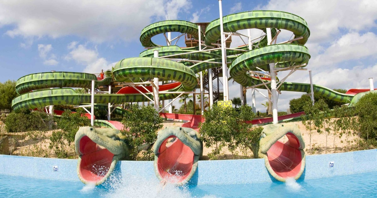 Aqualand El Arenal waterpark tickets and transfer