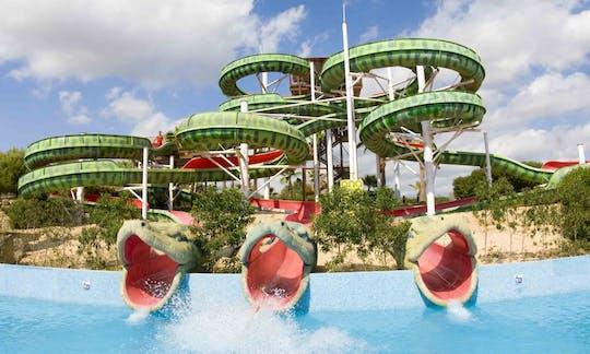 Entradas y transporte al parque acuático Aqualand El Arenal