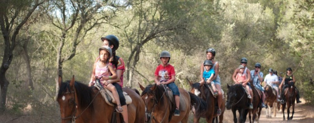 Horse riding, BBQ dinner and cowboy evening excursion