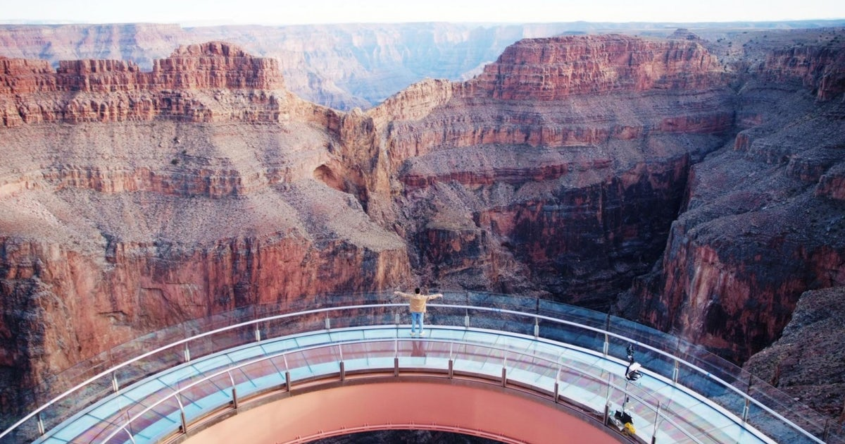 Grand Canyon West Rim Bus Tour With Skywalk Ticket