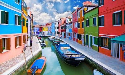 Salir de la ciudad,Excursions,Excursiones de un día,Full-day excursions,Excursion to Burano on a cruise,Excursion to Torcello on a cruise,Excursión a Murano en barco,Excursion to Murano on a cruise
