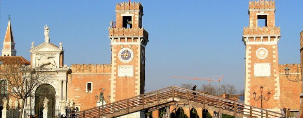 Geheime Ecken: versteckte Venedig Wander- und Motorboot Tour