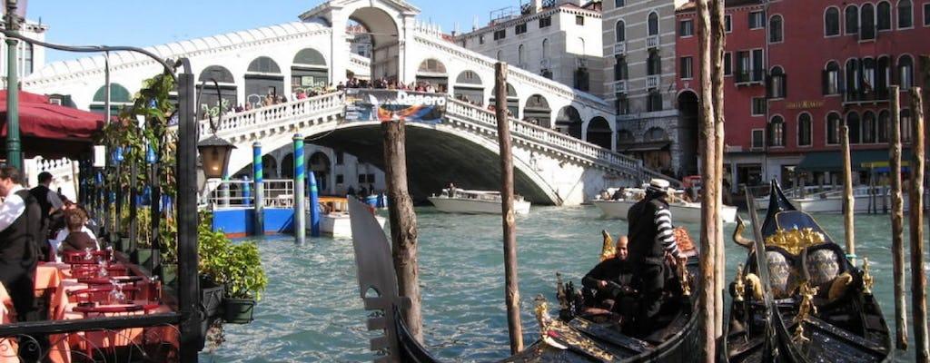 Doge's Palace, secret Venice walking tour and gondola ride