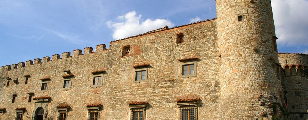 Chianti and castle tour from Siena with wine and food tasting